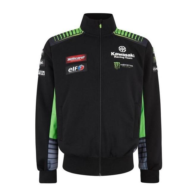 Sweatshirt homme Kawasaki Racing Team WorldSBK 2019 | Devant