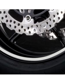 Kit liserés de jante blanc (une roue) Kawasaki | Réf. 197BWT0006