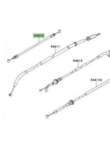 Câble fermeture de selle Kawasaki Versys 1000 (2012-2014)   Réf. 540100573