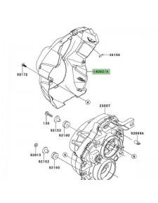 Entourage optique avant Kawasaki Versys 1000 (2012-2014)   Moto Shop 35
