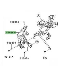 Support clignotant avant gauche Kawasaki Versys 1000 (2012-2014)   Réf. 5502804686Z