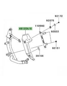 Écope de radiateur gauche Kawasaki Versys 1000 (2012-2014)   Moto Shop 35