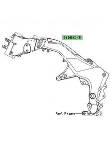 Autocollant de cadre Kawasaki Versys 1000 (2012-2014)   Moto Shop 35