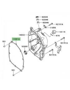 Joint d'étanchéité carter d'embrayage Kawasaki Versys 1000 (2012-2018) | Réf. 110610404