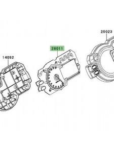 Compteur seul Kawasaki Versys 1000 (2012-2014) | Réf. 280110564
