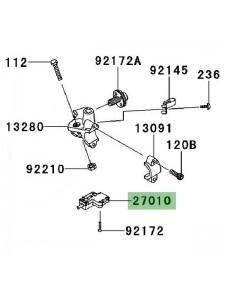 Contacteur d'embrayage Kawasaki Versys 1000 (2012-2014)   Réf. 270101094