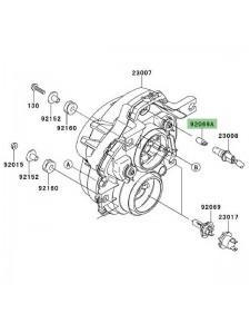 Ampoule (12V/5W) éclairage de plaque Kawasaki Versys 1000 (2012-2014)   Réf. 920691016
