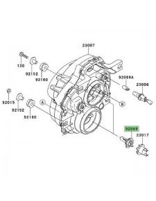 Ampoule H7 (12V/55W) optique avant Kawasaki Versys 1000 (2012-2014)   Réf. 920690053
