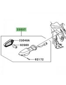 Clignotant avant gauche Kawasaki Versys 1000 (2012-2014)   Réf. 230370231