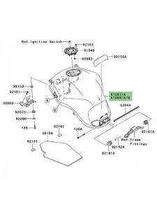 Réservoir à essence Kawasaki Versys 1000 (2012-2014)   Moto Shop 35