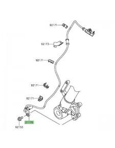 Câble ABS avant Kawasaki Versys 1000 (2015-2018)   Réf. 211760801