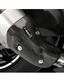 Paire de protections carbone échappements Akrapovic Kawasaki Z1000 (2014-2020) | Réf. 032CCS0027