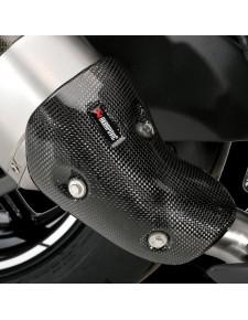 Paire de protections carbone échappements Akrapovic Kawasaki Z1000 (2014 et +) | Réf. 032CCS0027