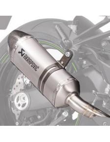 Paire de silencieux titane Akrapovic Kawasaki Z1000 (2014 et +) | Réf. 258EXP0070