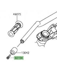 Vis M8 x 30 pour fixation embout de guidon Kawasaki Z1000 (2014 et +)   Réf. 921540502