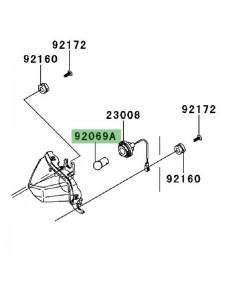 Ampoule (12V/10W) clignotants avant Kawasaki Z1000SX (2011-2016) | Réf. 920690046