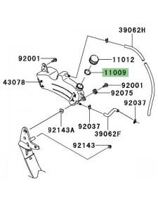 Joint d'étanchéité vase d'expansion Kawasaki Z1000SX (2011-2013) | Réf. 110091145