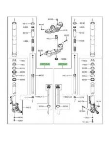 Fourche complète Kawasaki Z1000SX (2014-2016) | Moto Shop 35