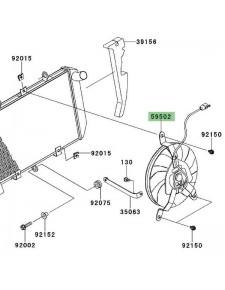 Ventilateur Kawasaki Z1000SX (2011-2013) | Réf. 595020567