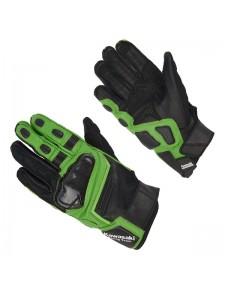 Gants textile noir/vert Kawasaki Racing Team