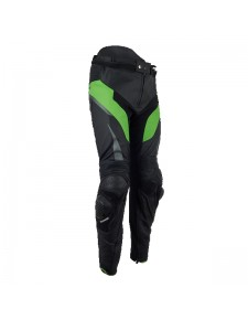 Pantalon en cuir (S - 3XL) Kawasaki Racing Team | Moto Shop 35