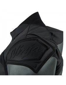 Détail renfort épaule blouson en cuir (S - 3XL) Kawasaki Racing Team   Moto Shop 35