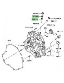 Roulement à aiguilles carter d'embrayage Kawasaki Er-6f (2006-2016) | Réf. 920460034