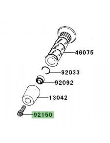 Vis fixation d'embout de guidon Kawasaki Er-6f (2006-2008) | Réf. 921501604