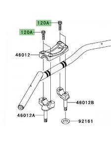 Vis M8x30 fixation pontet supérieur Kawasaki Er-6n (2009-2011) | Réf. 120CC0830