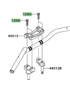Vis M8x30 fixation pontet supérieur Kawasaki Er-6f (2009-2016) | Réf. 120CC0830