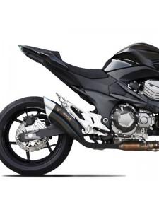 Silencieux IXRace Z7 black Kawasaki Z800 (2013-2016) | Réf. QK7368B