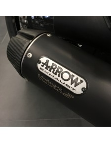 Ligne complète noir mat Arrow Kawasaki Vulcan S (2015-2021)   Réf. 258EXP0087