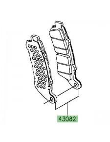 Plaquettes de frein avant Kawasaki Vulcan S ABS (2015 et +) | Réf. 430820169