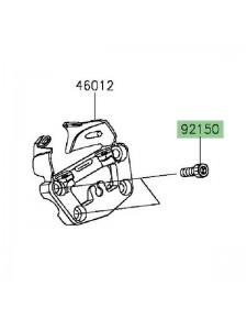 Vis M10x30 pour fixation pontet support compteur Kawasaki Vulcan S (2015 et +) | Réf. 921501690