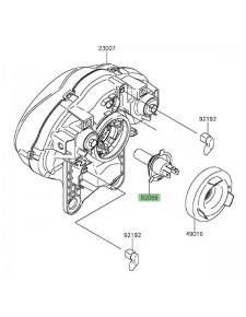 Ampoule H4 (12V - 60/55W) optique avant Kawasaki Vulcan S (2015 et +) | Réf. 920690050