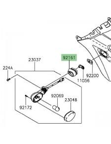 Amortisseur caoutchouc clignotant arrière Kawasaki Vulcan S (2015 et +) | Réf. 921611680