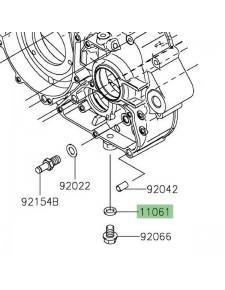 Joint de vidange d'origine Kawasaki Z125 (2019 et +)   Réf. 110610222