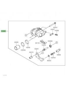 Étrier de frein arrière Kawasaki Z400 (2019 et +) | Réf. 430800187DJ