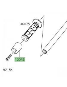 Embout de guidon d'origine Kawasaki Z400 (2019 et +) | Réf. 130425007