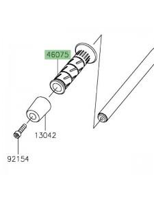 Poignée caoutchouc gauche Kawasaki Z400 (2019 et +) | Réf. 460750564