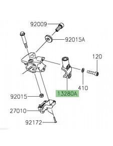 Support rétroviseur gauche Kawasaki Z400 (2019 et +) | Réf. 132800930