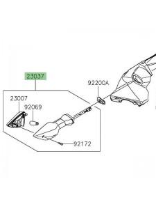 Clignotant avant gauche Kawasaki Z400 (2019 et +) | Réf. 230370330