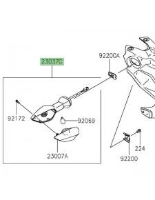 Clignotant arrière gauche Kawasaki Z400 (2019 et +) | Réf. 230370363