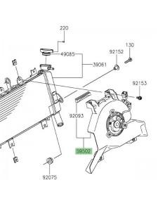Ventilateur d'origine Kawasaki Z400 (2019 et +) | Réf. 595020624