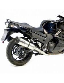 Silencieux LeoVince Factory S Inox Kawasaki ZZR1400 (2012-2020) | Réf. 8718S