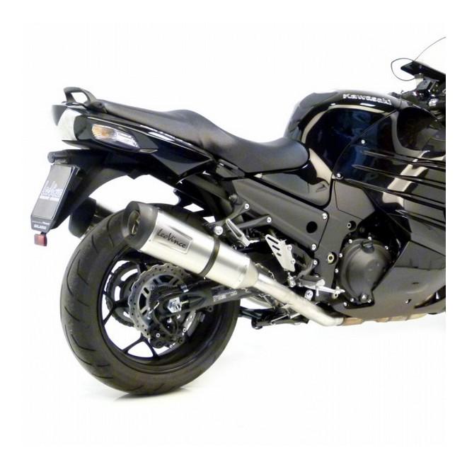 Silencieux LeoVince Factory S Inox Kawasaki ZZR1400 (2012-2020)   Réf. 8718S