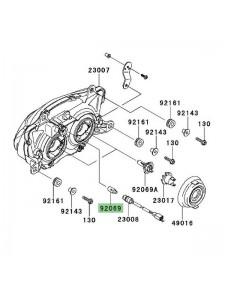 Ampoule veilleuse (12V/5W) optique avant Kawasaki Ninja 250R (2008-2012) | Réf. 920691016