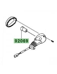 Ampoule (12V/10W) clignotant avant et arrière Kawasaki Ninja 250R (2008-2012) | Réf. 920690076