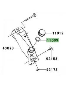Joint d'étanchéité vase d'expansion Kawasaki Ninja 250R (2008-2012) | Réf. 110091145