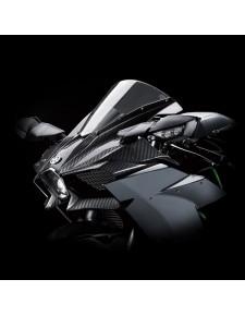 Tête de fourche en fibres de carbone Kawasaki Ninja H2 (2015 et +) | Réf. 999941006